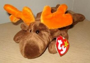 CHOCOLATE the Moose Retired Ty Beanie Baby