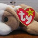 Wrinkles the dog TY beanie baby
