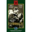 It's a Wonderful Life Frank Capra VHS 50th Anniversary Edition plus bonus footage