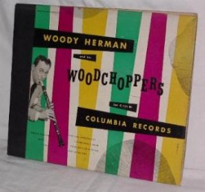 WOODY HERMAN AND HIS WOODCHOPPERS ALBUM SET C-121