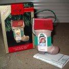 Hallmark Ornament Magic Light Chris Mouse Tales 1992