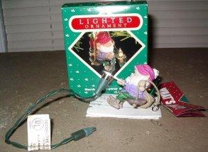 Hallmark Ornament North Pole Power & Light 1987
