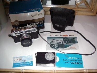 Yashica Electro 35 GSN 35mm Rangefinder Film Camera