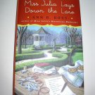 Miss Julia Lays down the Law SIGNED by Ann B. Ross (2015, Hardcover)
