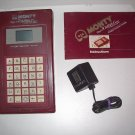 MONTY PLAYS SCRABBLE Hand Held Electronic Game Vintage 1982 Ritam NON WORKING