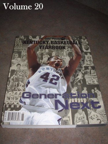 Kentucky Basketball Yearbook Cats Pause  Volume 20 1999-2000