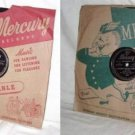FRANKIE LAINE set of two 78 RPM Records