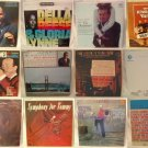 LOT OF EASY LISTENING, BANDS, ETC ALBUM RECORD COLLECTION 33 RPM Lot of 12 (#5)