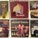 JACKIE GLEASON record lot of Six albums (33 RPM)