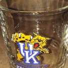 UNIVERSITY OF KENTUCKY Vintage GLASS MUG Made in USA