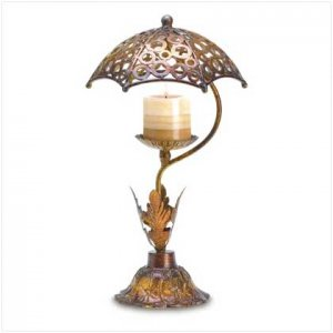 UMBRELLA CANDLE STAND     38597