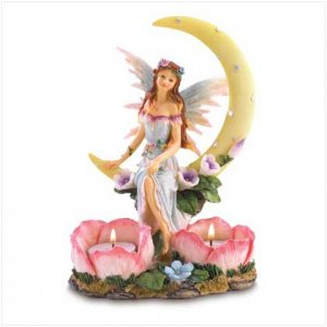 MOONLIGHT FAIRY CANDLEHOLDER  38703