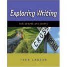 Exploring Writing: Paragraphs and Essays by John Langan 0073384127
