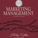 Marketing Management 11th by Philip Kotler 0130336297