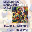 Developing Management Skills 5th by David A. Whetten 0130914088