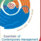 Essentials of Contemporary Management by JONES 0072865199