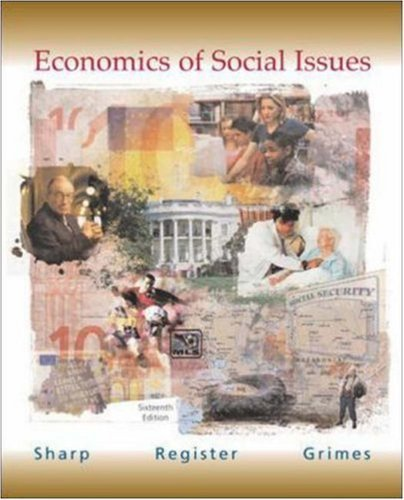 Economics of Social Issues 16th by Ansel Miree Sharp 0072559551