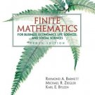 Finite Mathematics for Business Economics, Life Sciences... 10th by Karl E. Byleen 0131139622