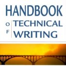 The Handbook of Technical Writing Sixth Edition by Charles T. Brusaw 0312254962