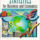 Statistics for Business and Economics 8th by James T. McClave 0130272930