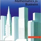 Mathematics for Business 7th by Charles D. Miller 032106920X