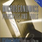Microeconomics : Principles and Tools 3rd by Arthur O'Sullivan 0130358126