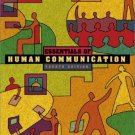 Essentials of Human Communication 4th by Joseph A. DeVito 032108652X