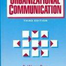 Organizational Communication 3rd by Donald F. Faules 0136438008