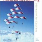 Financial Accounting : Information for Decisions 3rd by John J Wild 0072974729