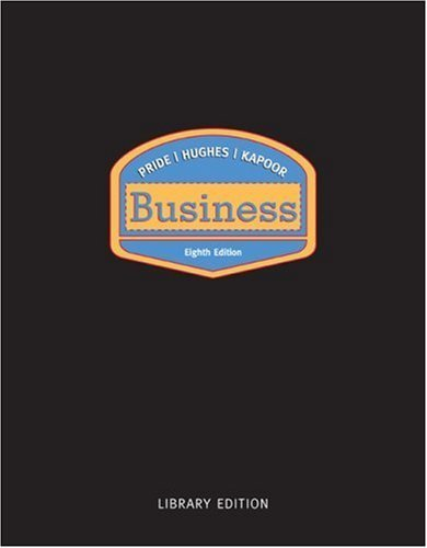 Business Library Eighth Edition by Jack Kapoor 0618372296