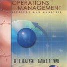 Operations Management : Strategy and Analysis 6th by Larry P. Ritzman 0201615452