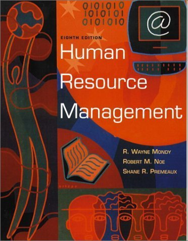 Human Resource Management 8th by Judy Bandy Mondy 0130322806