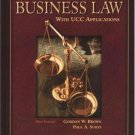 Business Law 10th by Gordon W. Brown 0078210372