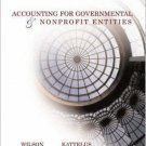 Accounting for Governmental and Nonprofit Entities 13th by Earl R Wilson 0072860596