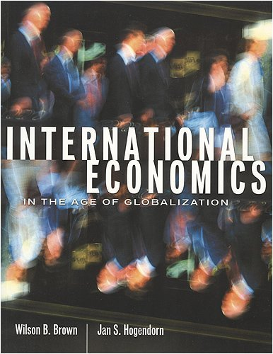 International Economics In The Age Of Globalization by Jan S. Hogendorn 1551112612