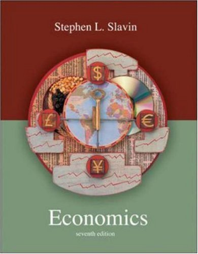 Economics 7th by Stephen L Slavin 0072854774