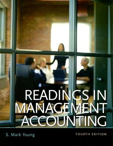 Readings in Management Accounting 4th by S. Mark Young 0131422154