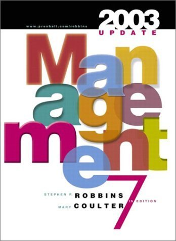 Management : 2003 Update 7th Edition by Mary Coulter 0131410814