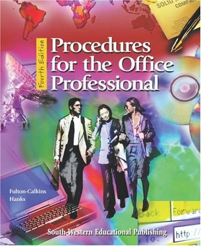 Procedures for the Office Professional 4th by Joanna D. Hanks 0538722126