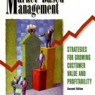 Market-Based Management 2nd by by Roger J. Best 0130145467