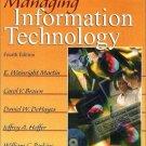 Managing Information Technology 4th by Carol V Brown 0130646369