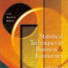 Statistical Techniques in Business and Economics 11th by Douglas A. Lind 007248389X