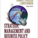 Strategic Management and Business Policy 8th by J. David Hunger 0130651214