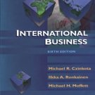 International Business, 6th Edition by Iikka A. Ronkainen 0030335647