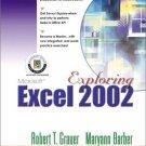 Exploring Microsoft Excel 2002 Comprehensive by Maryann Barber 0130924350