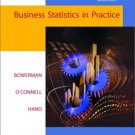 Business Statistics in Practice by Bowerman-O'Connel