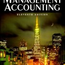 Introduction to Management Accounting 11th Charles T. Horngren 0132726831