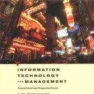 Information Technology for Management 5th Efraim Turban 0471705225