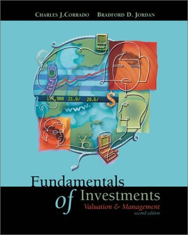 Fundamentals of Investments 2nd Charles J. Corrado 0072504439