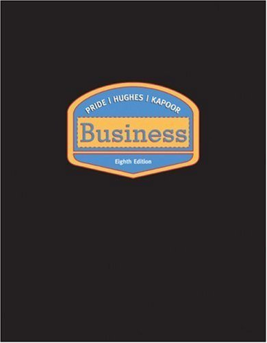 Business 8th Looseleaf Edition by William Pride 061837230X